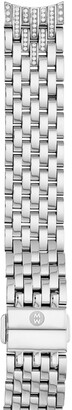 Michele Sidney Diamond 18mm Bracelet Watch Band