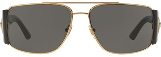Versace Eyewear wide arm aviators