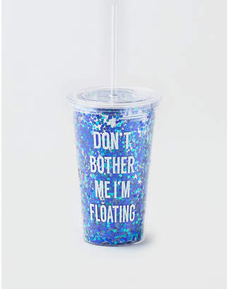 American Eagle Don't Bother Me Glitter Tumbler