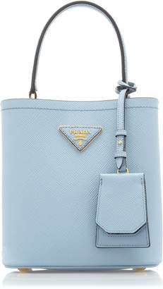Prada Saffiano Cuir Mini Top Handle Bag