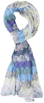 Missoni Blue Viscose Scarves