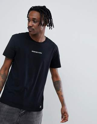 DC Craigburn T-Shirt With Chest Logo In Black