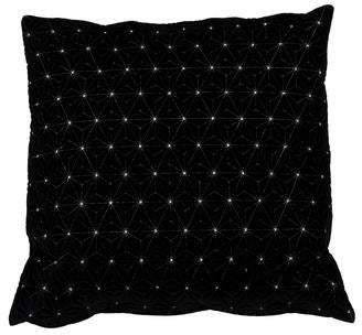 Fendi Velvet Throw Pillow