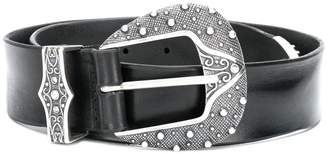 Orciani embellished Western buckle belt