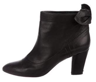 Marc Jacobs Leather Ankle Booties