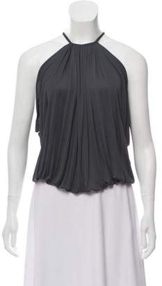 Calvin Klein Collection Sleeveless Pleated Top