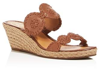 Jack Rogers Shelby Espadrille Wedge Slide Sandals