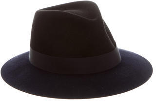 LanvinLanvin Colorblock Felt Hat
