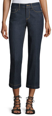 NYDJ Sophia Flared Cropped Jeans $39 thestylecure.com