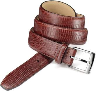 Charles Tyrwhitt Tan Leather Croc Embossed Belt Size 30-32