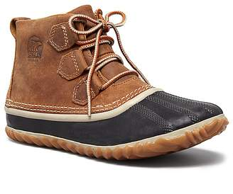 Sorel Out N About Lace Up Waterproof Duck Booties