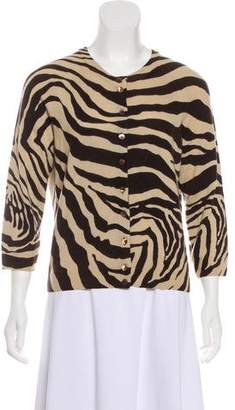 Dolce & Gabbana Cashmere Patterned Cardigan