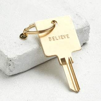 +Hotel by K-bros&Co THE GIVING KEYS - Believe Hotel Key Chain - Gold