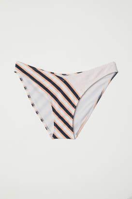 H&M V-cut Bikini Bottoms - White