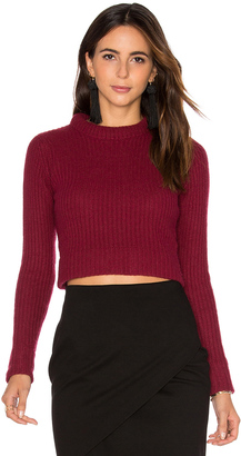 Autumn Cashmere Cropped Sweater $220 thestylecure.com