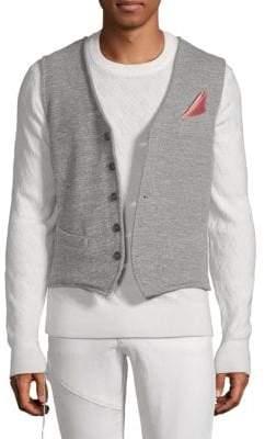 Knit Buttoned Vest