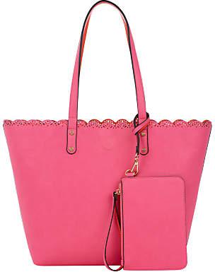 Oasis Skye Scallop Shopper Bag