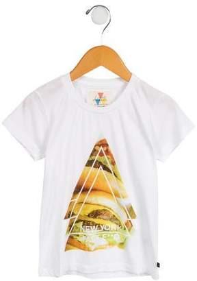 Little Eleven Paris Boys' Little New York T-Shirt w/ Tags