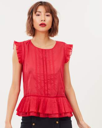 Maison Scotch Cotton Top