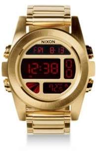 Nixon Unit Stainless Steel Digital Bracelet Watch
