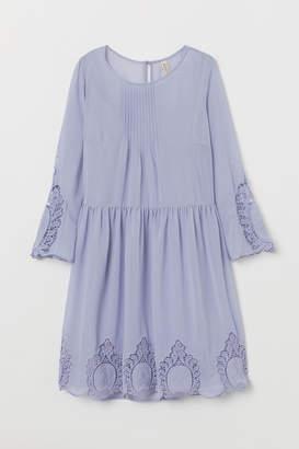H&M Dress with Lace - Blue