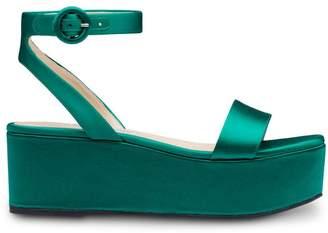 d6e970c38a7 Green Platform Shoes Leather - ShopStyle UK