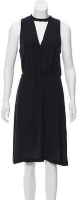 A.L.C. Black Silk Maxi Dress w/ Tags