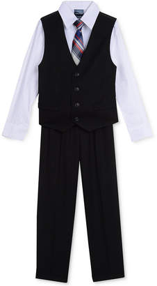 Nautica (ノーティカ) - Nautica 4-Pc. Shirt, Vest, Pants & Tie Set, Toddler Boys