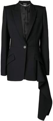 Alexander McQueen flared style blazer