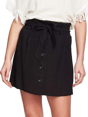 3e736deb9 1 STATE 1.STATE Tied Button-Front Skirt