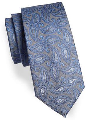 Geoffrey Beene Paisley Silk Tie