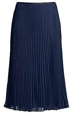 f7afcf449a32 Polo Ralph Lauren Women's Long A-Line Pleated Skirt