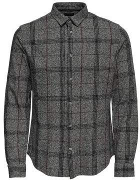 ONLY & SONS Checked Button-Down Shirt