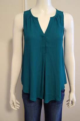 Lush Sleeveless Pleated Blouse