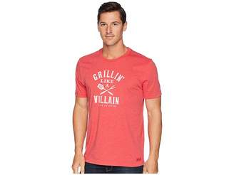 Life is Good Grillin' Like a Villain Crusher T-Shirt
