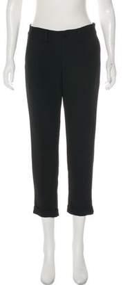 Graham & Spencer Straight-Leg Mid-Rise Pants