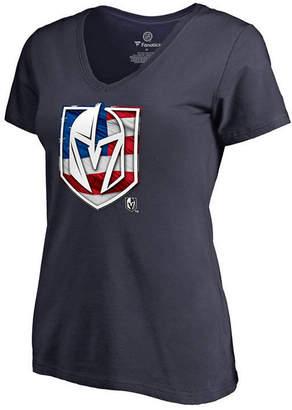 Majestic Women Vegas Golden Knights Banner Wave T-Shirt