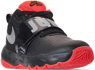 28a47dd2d8f5 Nike Little Boys  Team Hustle D 8 Basketball Sneakers from Finish Line