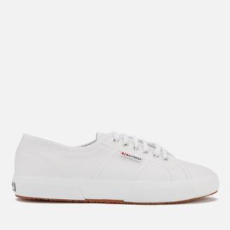 Superga 2750 Fglu Leather Trainers - White
