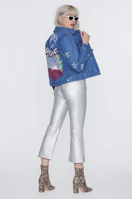 Nasty Gal x Jaydee Sami Denim Jacket
