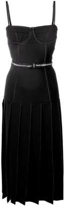 Thom Browne Wool Corset Skirt Dress