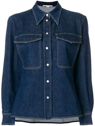 Stella McCartney Reina organic denim shirt
