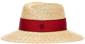 Maison Michel natural Virginie straw hat