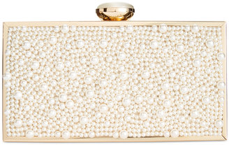 INC International Concepts Lyvia Imitation Pearl Clutch, Only at Macy's $109.50 thestylecure.com