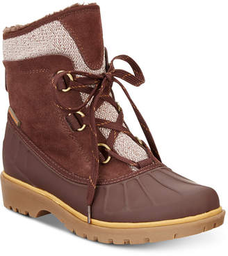 Bare Traps Baretraps Sitila Lace-Up Cold-Weather Boots