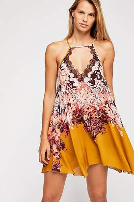 Intimately Floral Haze Printed Mini Slip