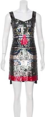 Patrizia Pepe Sequined Mini Dress