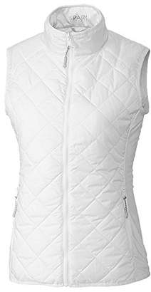 Cutter & Buck Women's Weathertec Lightweight Sandpoint Quilted Packable Spark Vest