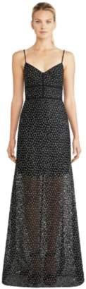 Jill Stuart Tamara Embroidered Gown