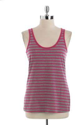 Lord & Taylor Striped Tank Top $32 thestylecure.com